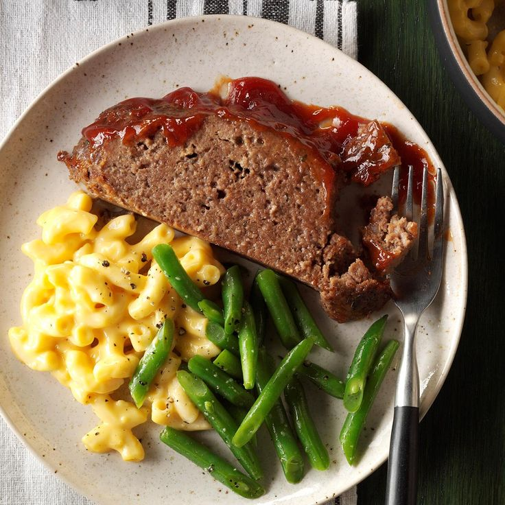 Melt-in-Your-Mouth Meat Loaf Recipe -When my husband and I were first married, he refused to eat meat loaf because he said it was bland and dry. Then I prepared this version, and it became his favorite meal. —Suzanne Codner, Starbuck, Minnesota