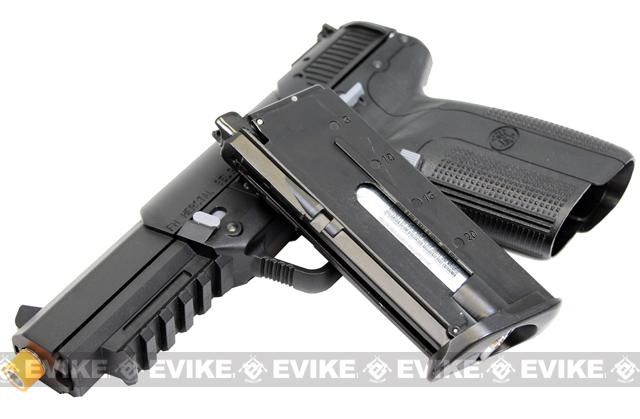 FN Herstal FN-57 Airsoft CO2 Gas Blowback Pistol by Marushin / JapanLoading that magazine is a pain! Get your Magazine speedloader today! http://www.amazon.com/shops/raeind