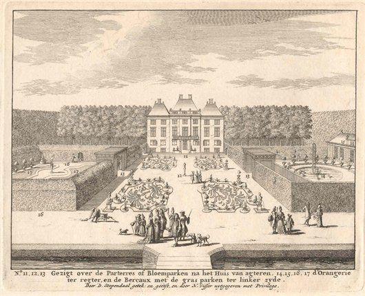 Franse tuin van Clingendael, Wassenaar - Geschiedenis van Zuid-Holland