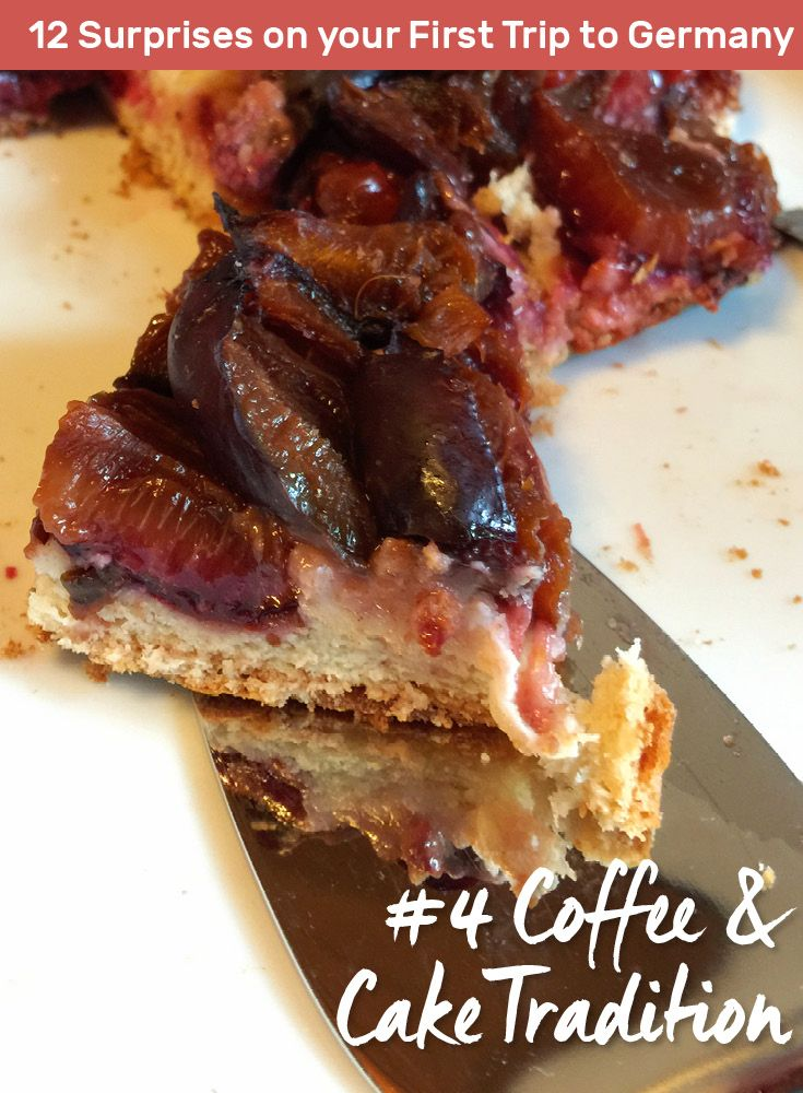 Plum Cake is an Excellent Choice for Kaffee und Kuchen in Germany