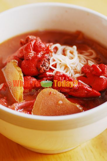MEE SUA WITH RED YEAST RICE