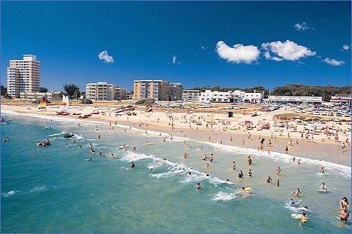 The Beach at Port Elizabeth.