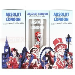 Free Absolut London Edition Glass with every order including the Absolut London Edition bottle