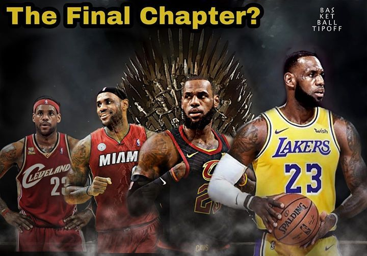 We Have Seen 3 Chapters In Lebron James Career The 1st Chapter Was His 7 Seasons Playing For The Cleveland Cavaliers Wher Lebron James King Lebron Chris Bosh