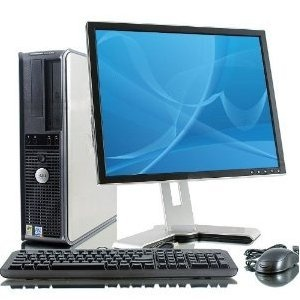 "Dell Optiplex GX620 Intel Pentium 4 2800 MHz 40Gig Serial ATA HDD 1024mb DDR2 Memory DVD ROM Genuine Windows XP Professional   17"" Flat Panel LCD Monitor Desktop PC Computer Professionally Refurbished by a Microsoft Authorized Refurbisher"