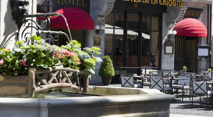 Hôtel de la Cigogne Geneva Featuring period furniture in all rooms of its historic building, Hôtel de la Cigogne offers you an elegant atmosphere for your stay in the centre of Geneva, right on the charming Longemalle square next to the Old Town, the English Garden and Lake...