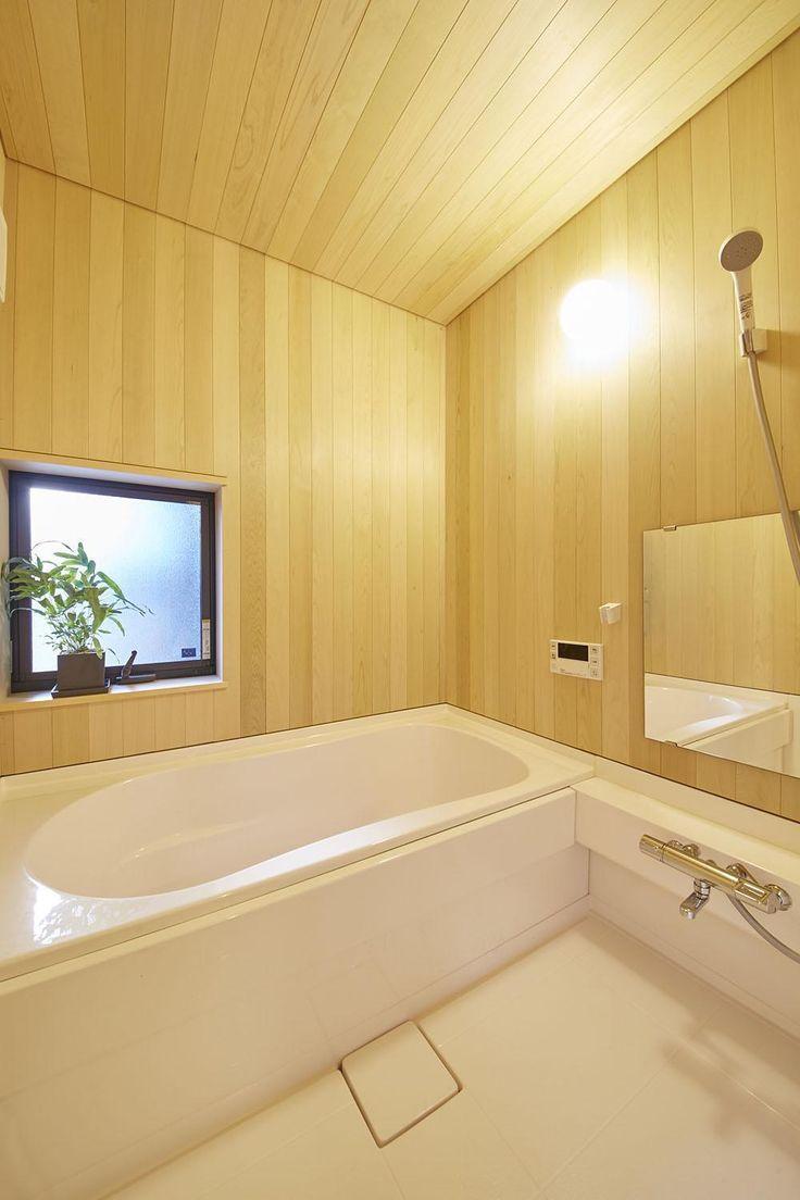 浴室(柳崎の住宅)