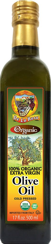 100% Organic Extra Virgin Olive Oil - Superior Taste - Kosher for Passover & All Year Around - Non GMO  - Free of Preservatives - Free of Additives - Certified 100% Extra Virgin Olive Oil - First Cold Pressed - USDA Certified Organic - Healthy for Cooking, Baking or Frying - Low Acidity - Rich in Oleic Acid