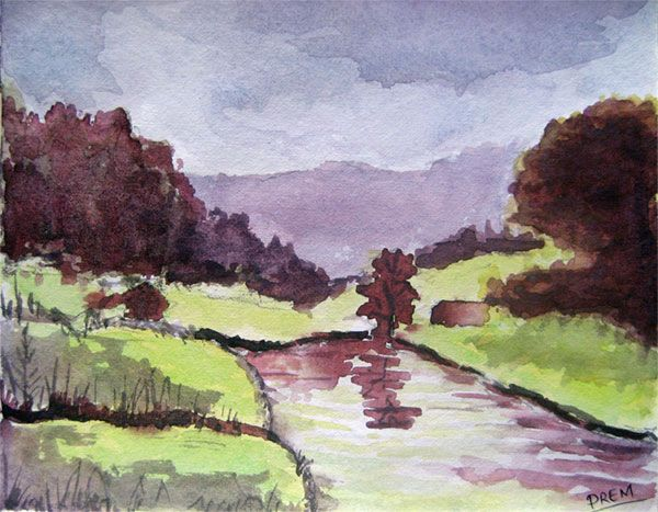 Easy Watercolor Paintings | ... watercolor paintings based ...