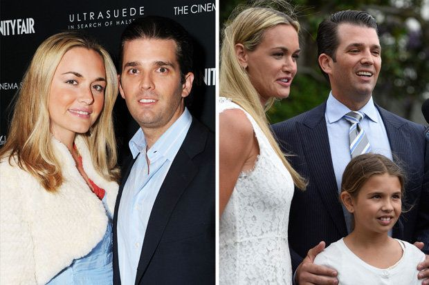 Pin Auf Donald Trump Jr To Divorce Wife Vanessa After Anthrax Scare