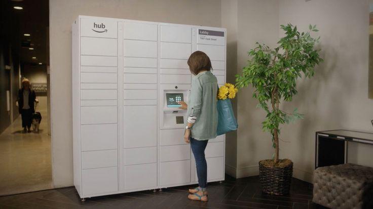 Check: Amazon Hub, connected afleverhub voor pakketbezorgers