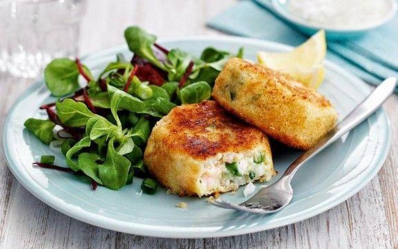 Crispy Cod Prawn Fishcakes recipe