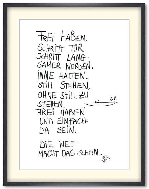"""Bild """"Frei haben"""", Künstlerin HARRY (Harriet Grundmann ..."""