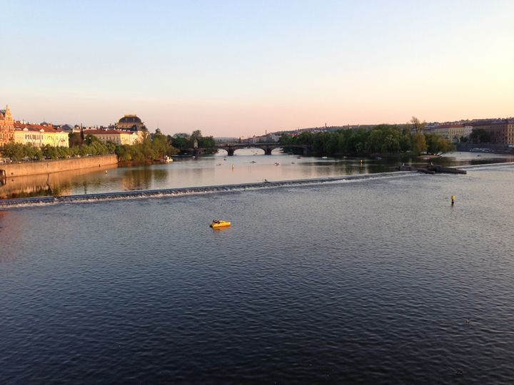 Landed Wednesday. First visit was to the Vltava River, which runs through Prague, the vibrant city that drew young people in the 1600s from Kolberg and Schwabstedt in Germany, Pecs in Hungary and other places across the continent to seek an education at Charles University and a new life.
