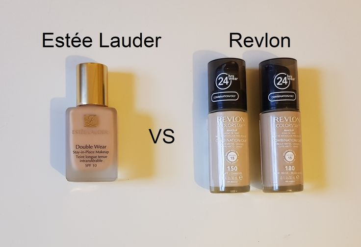 Detailed review on the Estee Lauder double wear vs Revlon Color Stay foundation. www.bonds-of-beauty.com