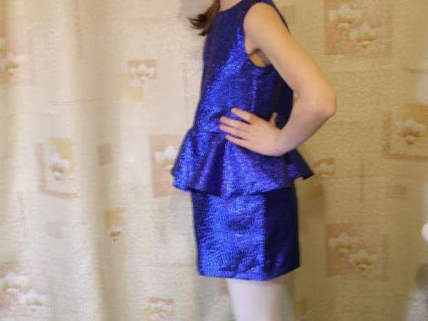 Нарядное платье для девочки---цвет электрик. Днепр - изображение 8