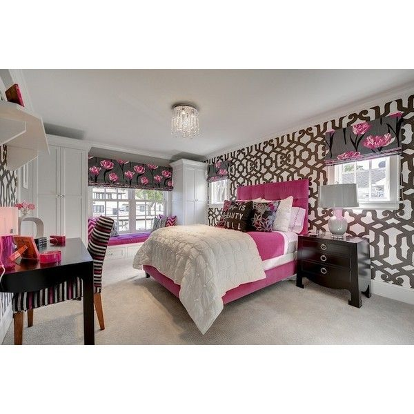 Pink And Gray Bedroom Contemporary Girl 39 S Room Great