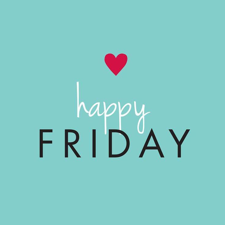 Feliz Sexta-feira!