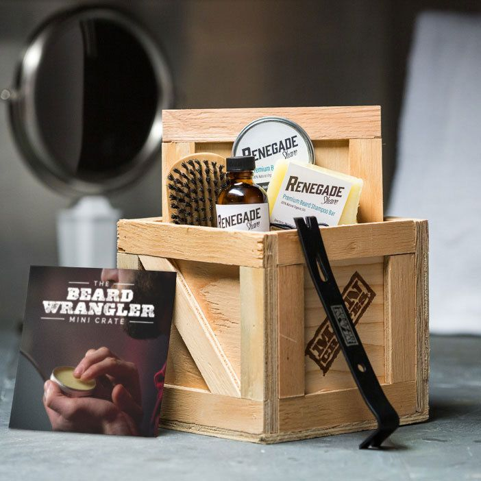 Men, if you're not actively shaving while reading this, then technically you're growing a beard. The Beard Wrangling Crate will tame that nappy nest.