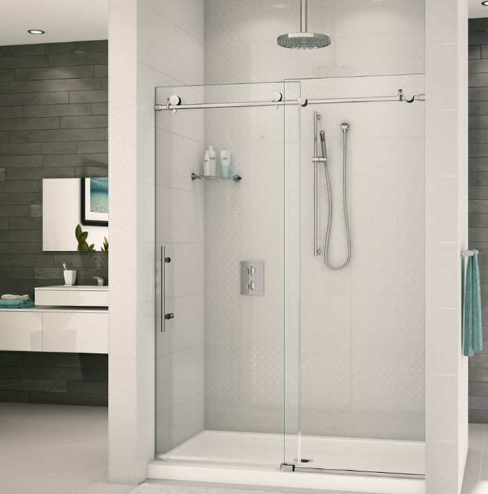 Cleaning Guide How To Clean Your Glass Shower Doors Properly: 36 Best Images About Shower Doors On Pinterest