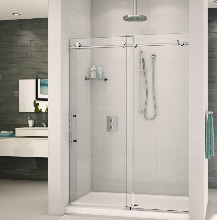 25 best ideas about shower door hardware on pinterest for Glass barn door for bathroom