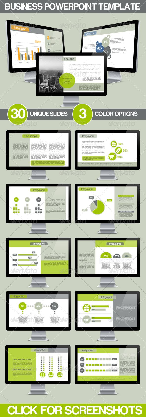 business presentation design