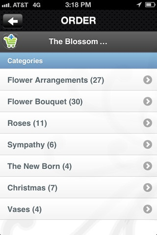 iPhone Screenshot 3 The Blossom Room APP