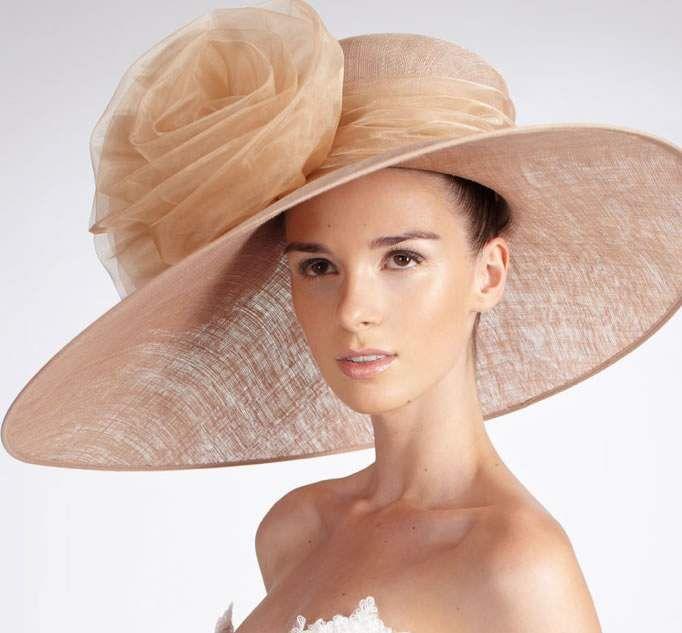 Derby style hat #millinery #judithm #hats