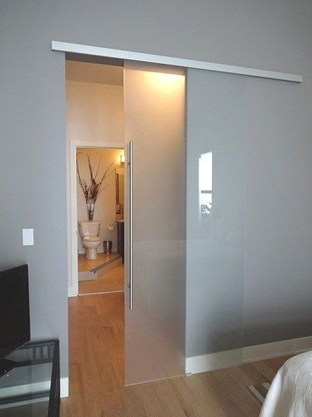 Single Barn Doors   Creative Mirror & Shower
