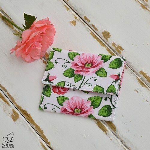 Kvetovaná peňaženka
