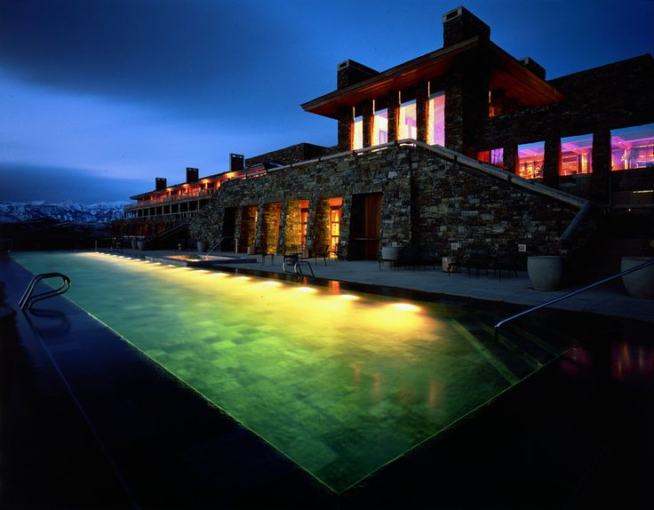 Amangani resort in Jackson, WY featured in our last minute Labor Day weekend getaways guide. #goopgo