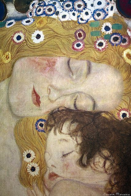 Gustav Klimt - Mother & Child