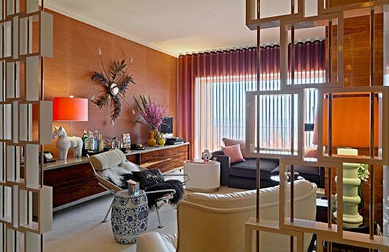 576 best images about atomic living rooms on pinterest for Glam interior design