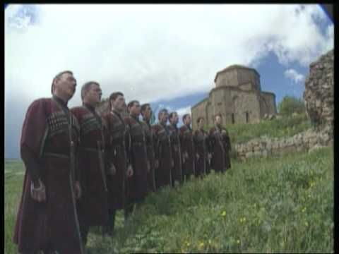 "Fameous Georgian Choir ""Rustavi"" - ancient Georgian choral ""Shen Khar Venakhi"",art director Anzor Erkomaishvili,Video directed by Sandro Vakhtangov,Producer ..."