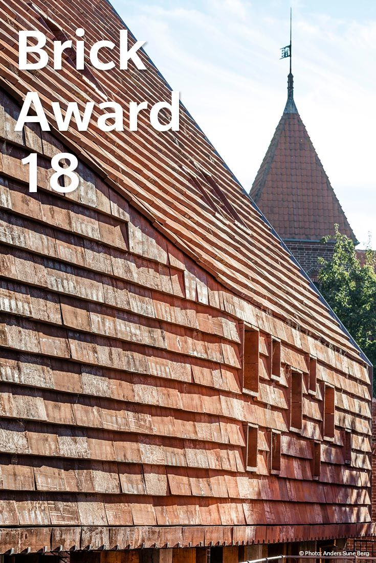 Genomineerd #WienerbergerBrickAward 2018: Kannikegarden, Denmark.