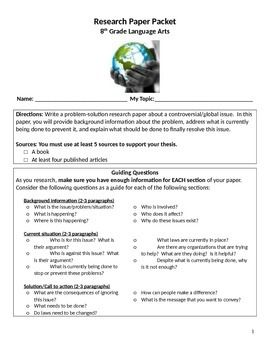 problem solution foundation schools term paper Rubric – problem solution research essay ideas and content (problem section) 6 mesa public schools other titles: rubric – problem solution research essay.