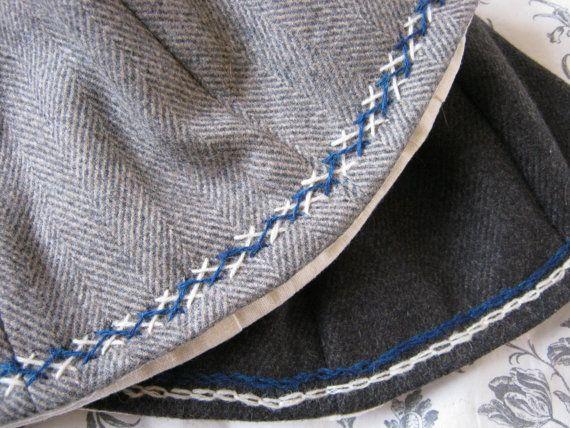 Eigenbau Nordische / Viking Wollkappe von TheMidgardSeamstress