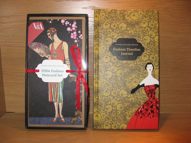 Susan Says: Victoria and Albert Museum 1920's inspired notecards, 16 in this package and perfect to go with them... a Fashion Time Line Journal with colour illustrations and a ribbon marker.  Available at Best of Friends Gift Shop in the lobby of Winnipeg's Millennium Library. 204-947-0110 info@friendswpl.ca