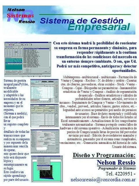 EL MUNDO DE LAS TECNOLOGÍAS DE LA INFORMACIÓN Y LAS COMUNICACIONES: Mi Sistema de Gestión: http://www.elmundodelastics.net/p/mi-ultimo-sistema-de-gestion.html