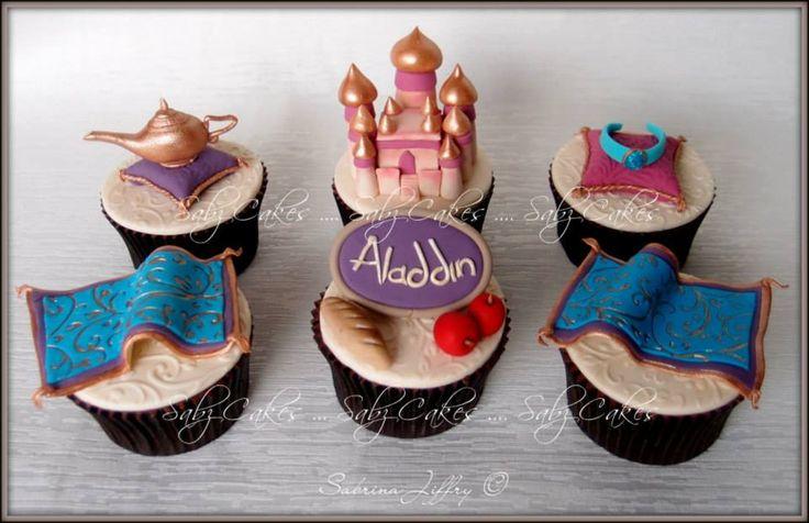 Jasmine & Aladdin ⚜ cupcakes