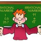 Rational and irrational numbers Worksheet   20 word problems, with the answer key (HSPA and SAT Review)...