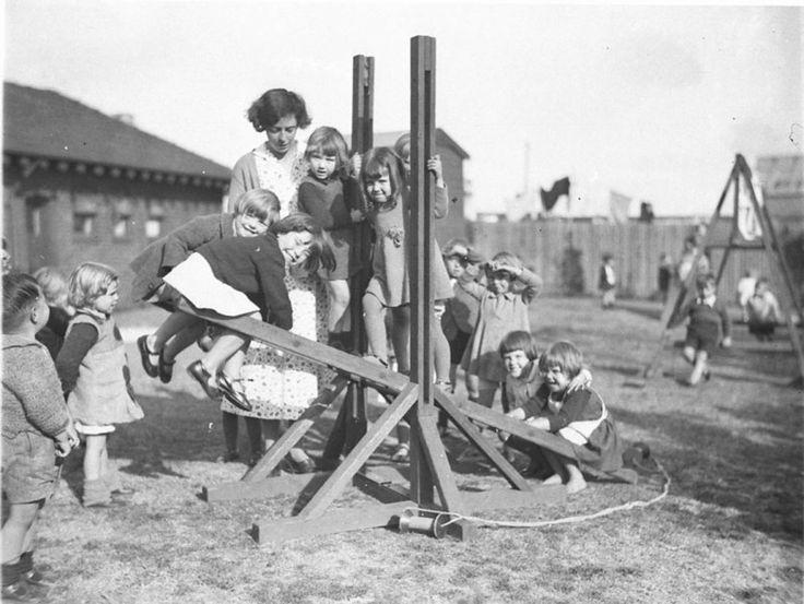 Kindergarten at Alexandria, Sydney 1930s