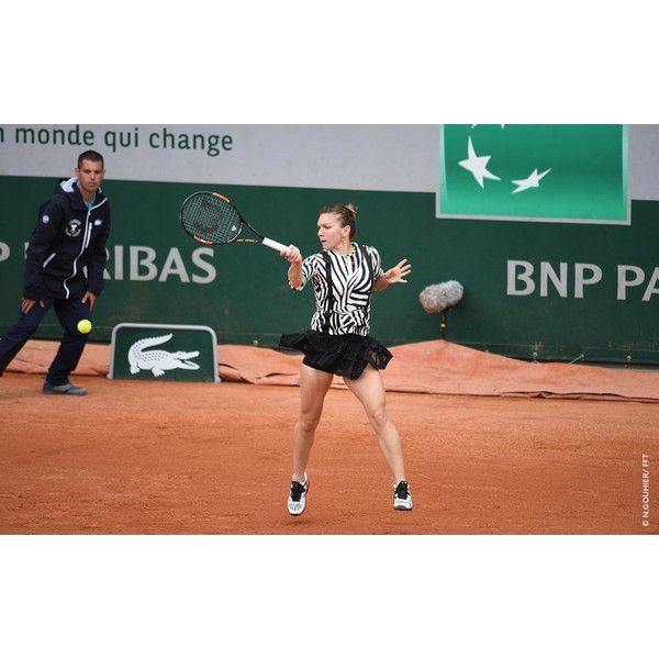 Simona Halep at French Open 2016