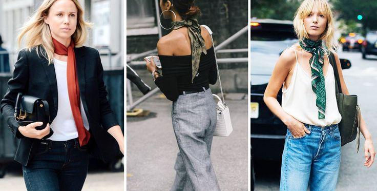 16 Formas De Usar Tu Pañuelo De Seda, Según Las Chicas Fashion – Cut & Paste – Blog de Moda