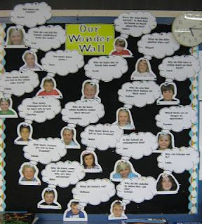 Wonder Wall. Create one before the start of a new unit then at the end see how many questions were answered and any new wonderings the students have. Image only