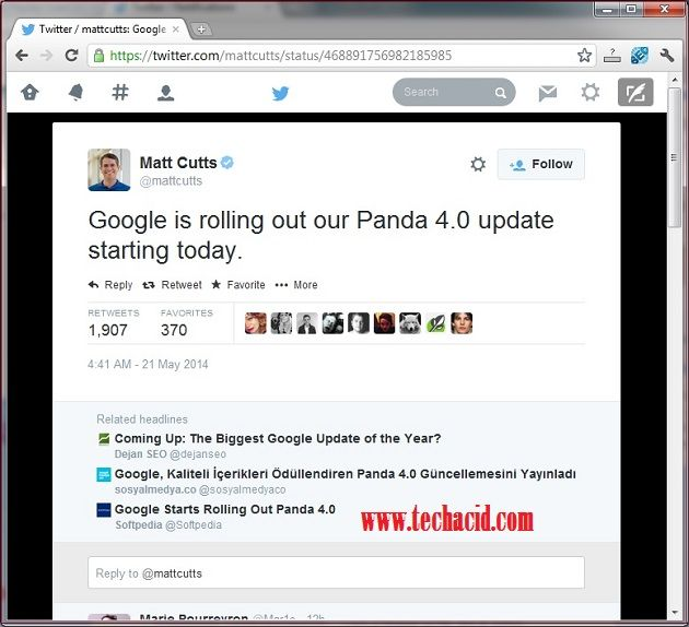 Google Rolled Out Panda 4.0 Updates!