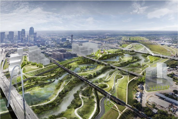 Before the Harold Simmons Park breaks ground, the US Army Corps of Engineers will need to approve the plans since it's in a flood zone.