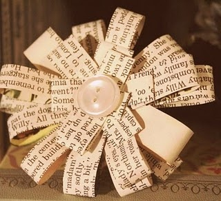 how fun would these be to make?: Student S Journey, Law Student S, Law Students, Paper Flowers, Book Pages, Paper Crafts, Craft Ideas, Old Books