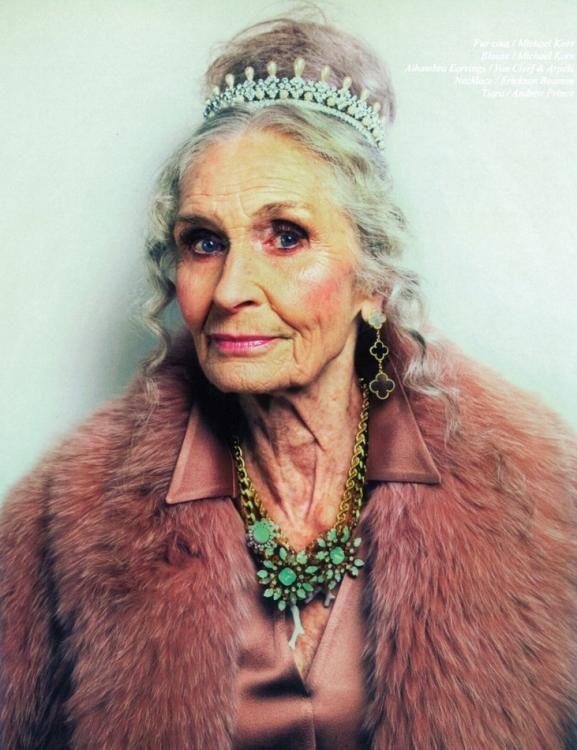 Daphne Selfe, Inès de la Fressange und Co.: alte Models sind in – Schweizer Illustrierte