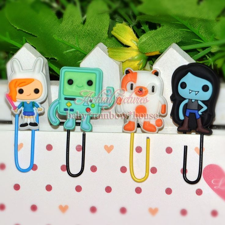 4pcs Action Figures Adventure Time Paper Clip //Price: $7.95 & FREE Shipping //     #actionfigurecollectors